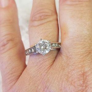 ATI 925 Sterling Silver CZ Ring